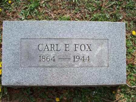 FOX, CARL F - Montgomery County, Kansas | CARL F FOX - Kansas Gravestone Photos