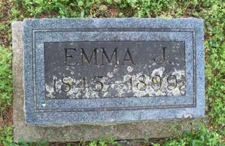 FOX, EMMA J - Montgomery County, Kansas | EMMA J FOX - Kansas Gravestone Photos