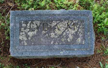 FOX, LYDIA M - Montgomery County, Kansas | LYDIA M FOX - Kansas Gravestone Photos