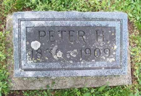FOX, PETER H - Montgomery County, Kansas | PETER H FOX - Kansas Gravestone Photos