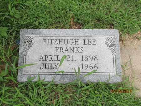 FRANKS, FITZHUGH LEE - Montgomery County, Kansas | FITZHUGH LEE FRANKS - Kansas Gravestone Photos