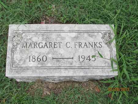 FRANKS, MARGARET C - Montgomery County, Kansas | MARGARET C FRANKS - Kansas Gravestone Photos