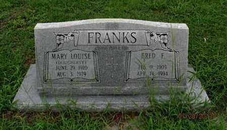 DOUGHERTY FRANKS, MARY LOUISE - Montgomery County, Kansas | MARY LOUISE DOUGHERTY FRANKS - Kansas Gravestone Photos