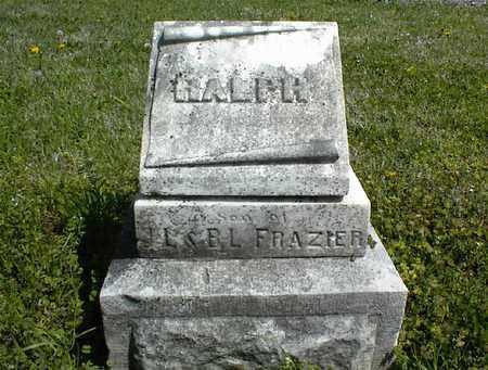 FRAZIER, RALPH - Montgomery County, Kansas   RALPH FRAZIER - Kansas Gravestone Photos