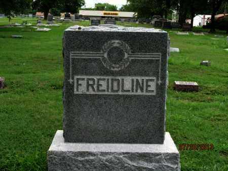 FREIDLINE, FAMILY STONE - Montgomery County, Kansas   FAMILY STONE FREIDLINE - Kansas Gravestone Photos