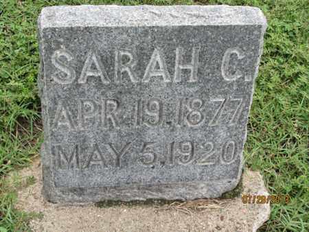 FREIDLINE, SARAH C - Montgomery County, Kansas   SARAH C FREIDLINE - Kansas Gravestone Photos