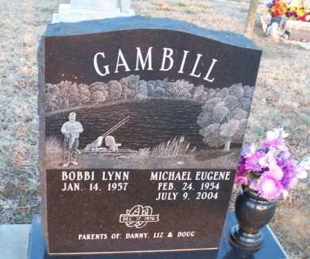 GAMBILL, MICHAEL EUGENE - Montgomery County, Kansas | MICHAEL EUGENE GAMBILL - Kansas Gravestone Photos