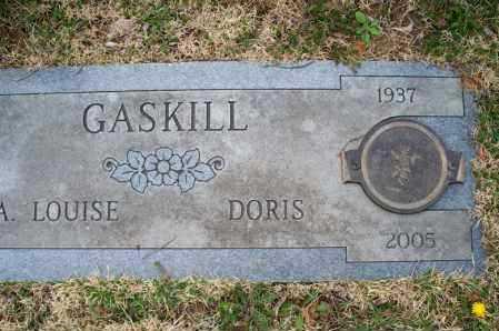 GASKILL, DORIS - Montgomery County, Kansas | DORIS GASKILL - Kansas Gravestone Photos