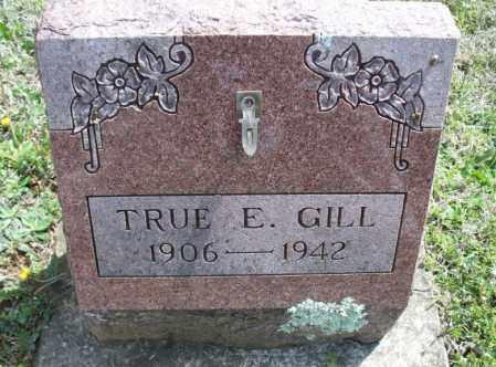 GILL, TRUE E - Montgomery County, Kansas | TRUE E GILL - Kansas Gravestone Photos