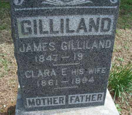 GILLILAND, DANIEL JAMES - Montgomery County, Kansas | DANIEL JAMES GILLILAND - Kansas Gravestone Photos