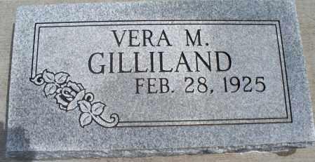 GILLILAND, VERA M    - Montgomery County, Kansas | VERA M    GILLILAND - Kansas Gravestone Photos
