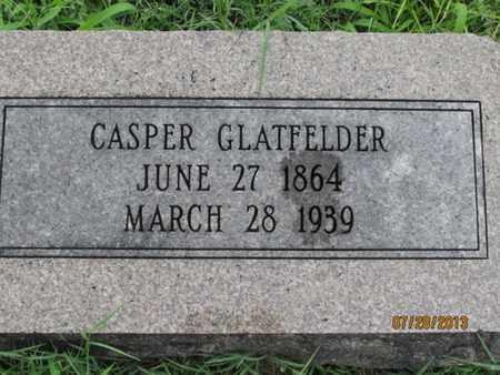GLATFELDER, CASPER - Montgomery County, Kansas   CASPER GLATFELDER - Kansas Gravestone Photos
