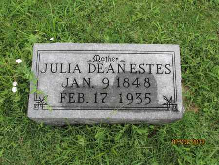 DEAN  , JULIA - Montgomery County, Kansas | JULIA DEAN   - Kansas Gravestone Photos