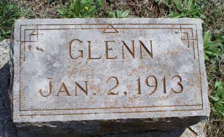 GLENN, UNKNOWN - Montgomery County, Kansas | UNKNOWN GLENN - Kansas Gravestone Photos