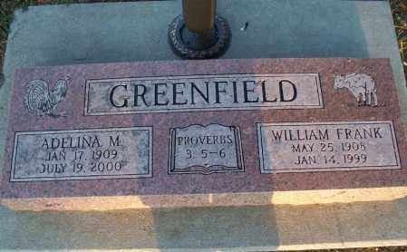 GREENFIELD, WILLIAM FRANK - Montgomery County, Kansas | WILLIAM FRANK GREENFIELD - Kansas Gravestone Photos