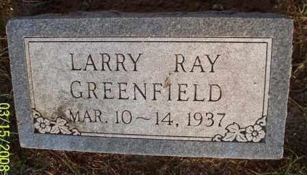 GREENFIELD, LARRY RAY - Montgomery County, Kansas | LARRY RAY GREENFIELD - Kansas Gravestone Photos