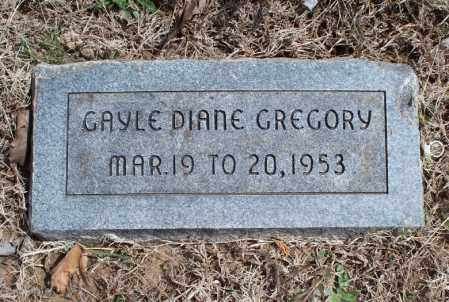 GREGORY, GAYLE DIANE - Montgomery County, Kansas | GAYLE DIANE GREGORY - Kansas Gravestone Photos