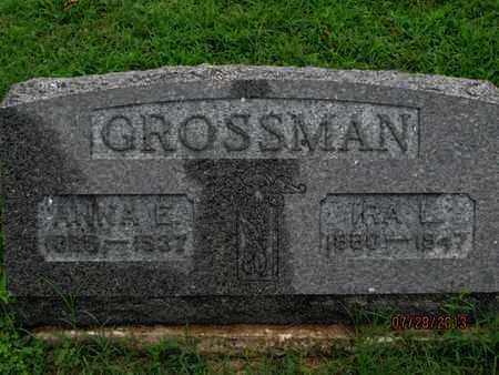 GROSSMAN, IRA L - Montgomery County, Kansas   IRA L GROSSMAN - Kansas Gravestone Photos