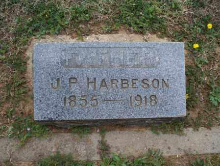 HARBESON, J P - Montgomery County, Kansas | J P HARBESON - Kansas Gravestone Photos