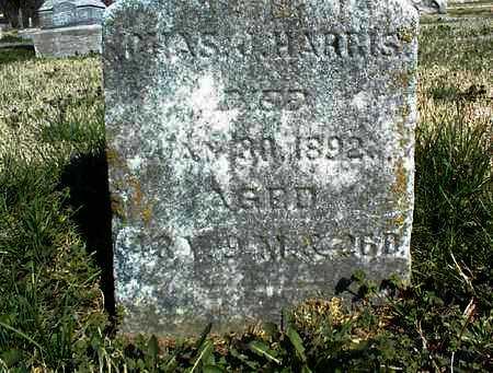 HARRIS, CHARLES J, SR - Montgomery County, Kansas   CHARLES J, SR HARRIS - Kansas Gravestone Photos