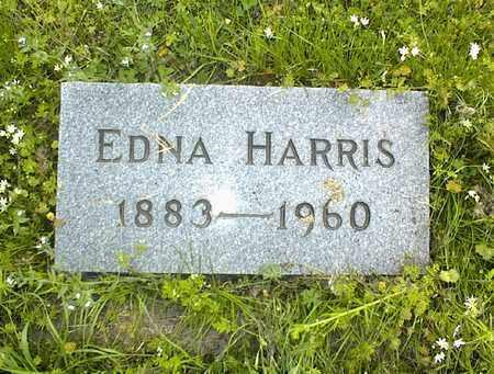 HARRIS, EDNA - Montgomery County, Kansas   EDNA HARRIS - Kansas Gravestone Photos