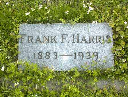 HARRIS, FRANK F - Montgomery County, Kansas | FRANK F HARRIS - Kansas Gravestone Photos