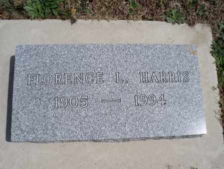 HARRIS, FLORENCE L - Montgomery County, Kansas | FLORENCE L HARRIS - Kansas Gravestone Photos