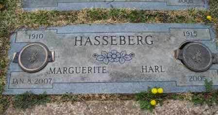 HASSEBERG, HARL - Montgomery County, Kansas | HARL HASSEBERG - Kansas Gravestone Photos