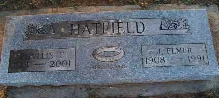 HATFIELD, PHYLLIS C - Montgomery County, Kansas | PHYLLIS C HATFIELD - Kansas Gravestone Photos