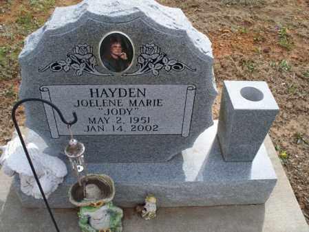 "HAYDEN, JOELENE MARIE ""JODY"" - Montgomery County, Kansas | JOELENE MARIE ""JODY"" HAYDEN - Kansas Gravestone Photos"