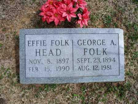 HEAD, EFFIE - Montgomery County, Kansas   EFFIE HEAD - Kansas Gravestone Photos