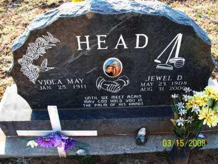 HEAD, JEWEL D - Montgomery County, Kansas   JEWEL D HEAD - Kansas Gravestone Photos