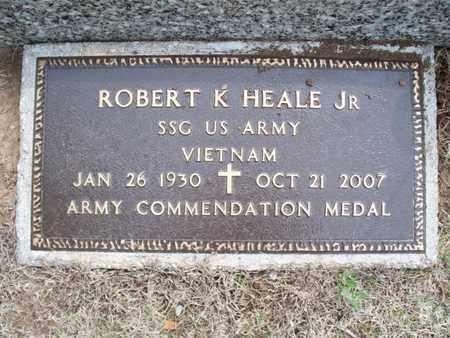 HEALE, ROBERT K, JR  (VETERAN VIET) - Montgomery County, Kansas | ROBERT K, JR  (VETERAN VIET) HEALE - Kansas Gravestone Photos