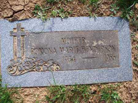 HENDERSON, ROMONA MARIE - Montgomery County, Kansas | ROMONA MARIE HENDERSON - Kansas Gravestone Photos