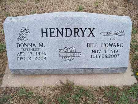 STEPHENS HENDRYX, DONNA M - Montgomery County, Kansas | DONNA M STEPHENS HENDRYX - Kansas Gravestone Photos