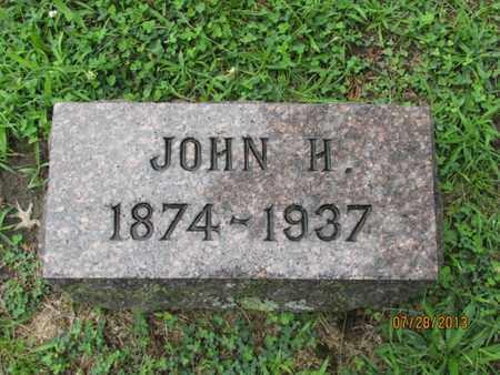 HENNESSEY, JOHN H - Montgomery County, Kansas | JOHN H HENNESSEY - Kansas Gravestone Photos