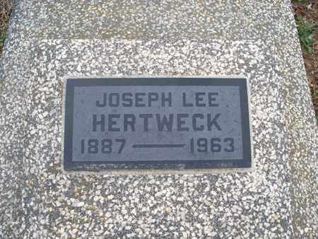HERTWECK, JOSEPH LEE - Montgomery County, Kansas | JOSEPH LEE HERTWECK - Kansas Gravestone Photos