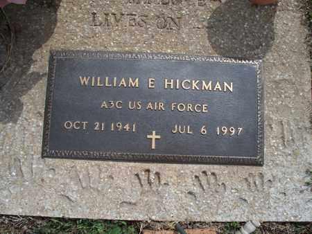HICKMAN, WILLIAM E  (VETERAN) - Montgomery County, Kansas   WILLIAM E  (VETERAN) HICKMAN - Kansas Gravestone Photos