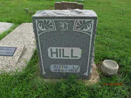 HILL, RUTH L - Montgomery County, Kansas   RUTH L HILL - Kansas Gravestone Photos