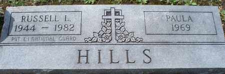 HILLS, RUSSELL L  (VETERAN) - Montgomery County, Kansas | RUSSELL L  (VETERAN) HILLS - Kansas Gravestone Photos