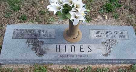 "HINES, WILLIAM ""TED"" - Montgomery County, Kansas | WILLIAM ""TED"" HINES - Kansas Gravestone Photos"