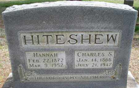 HITESHEW, HANNAH - Montgomery County, Kansas | HANNAH HITESHEW - Kansas Gravestone Photos