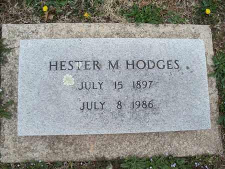 HODGES, HESTER M - Montgomery County, Kansas | HESTER M HODGES - Kansas Gravestone Photos