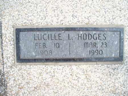 HODGES, LUCILLE L - Montgomery County, Kansas | LUCILLE L HODGES - Kansas Gravestone Photos