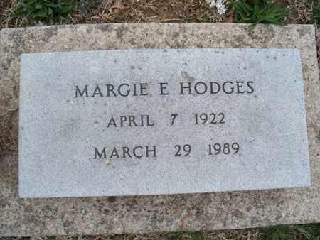 HODGES, MARGIE E - Montgomery County, Kansas | MARGIE E HODGES - Kansas Gravestone Photos