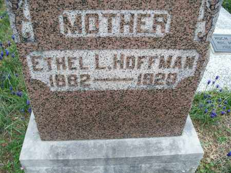 HOFFMAN, ETHEL L - Montgomery County, Kansas   ETHEL L HOFFMAN - Kansas Gravestone Photos