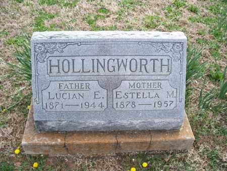 HOLLINGWORTH, LUCIAN E - Montgomery County, Kansas | LUCIAN E HOLLINGWORTH - Kansas Gravestone Photos