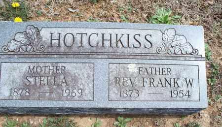 HOTCHKISS, FRANK W, REV - Montgomery County, Kansas | FRANK W, REV HOTCHKISS - Kansas Gravestone Photos