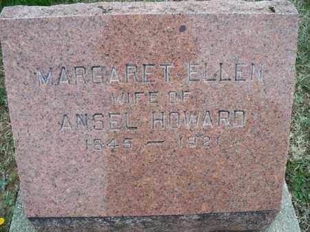 HOWARD, MARGARET ELLEN - Montgomery County, Kansas   MARGARET ELLEN HOWARD - Kansas Gravestone Photos