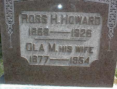 HOWARD, OLA M - Montgomery County, Kansas | OLA M HOWARD - Kansas Gravestone Photos